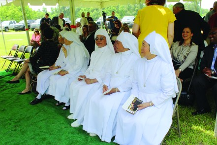 The home will be run and the rescued girls will be nurtured by nuns from around the world who are uniquely qualified for this monumental task.