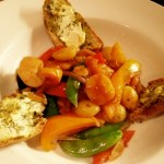 A summer stew of sweet peppers and other stuff