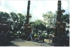 Drilling with 2 700 Drilling Machines