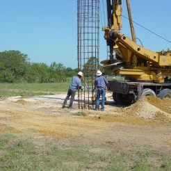 Lower Rebar Cage: Harwood, TX