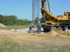 Lower Rebar Cage: Harwood, TX