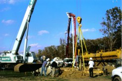 Pouring Foundation: Lake Fork, TX