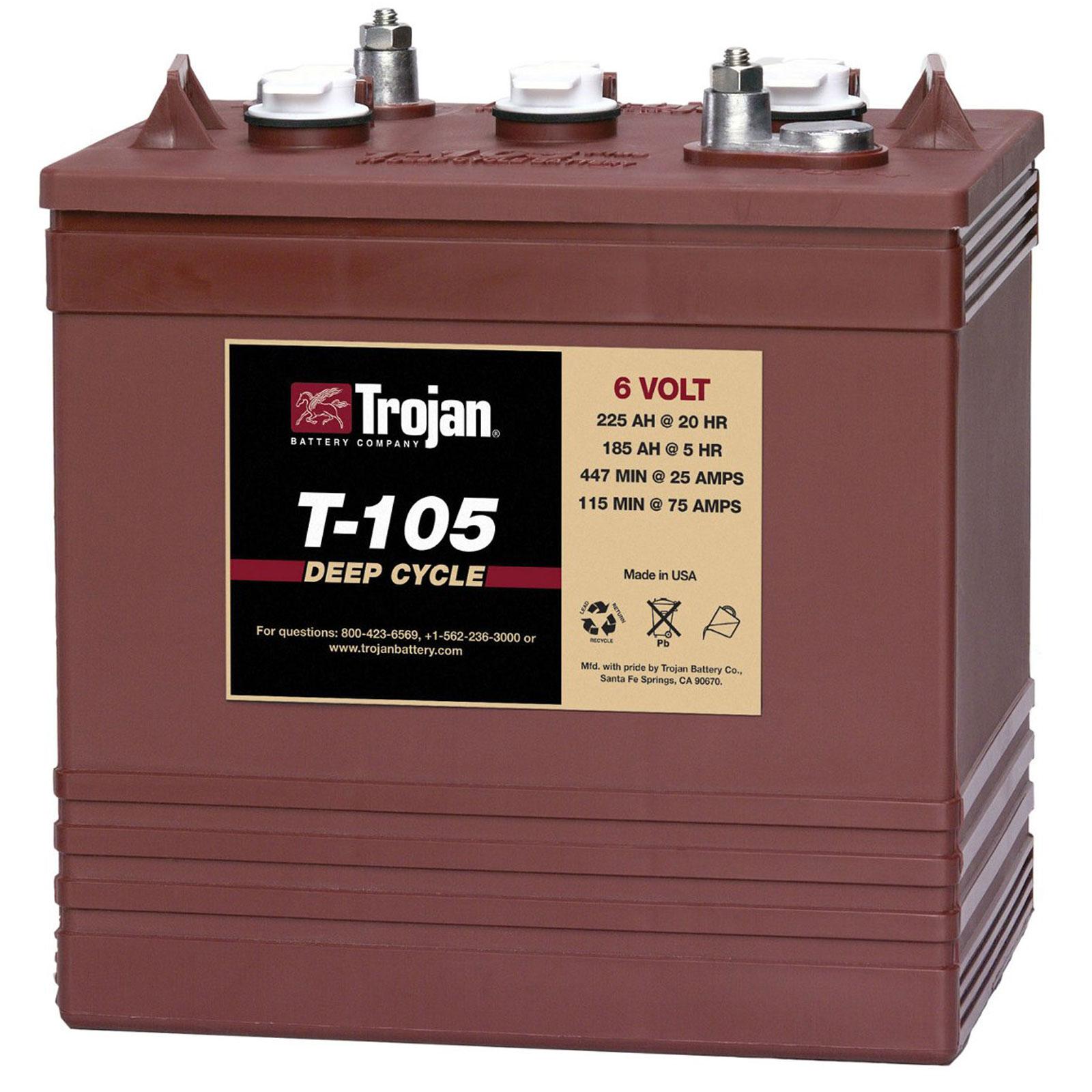 Trojan 6v Deep Cycle Battery