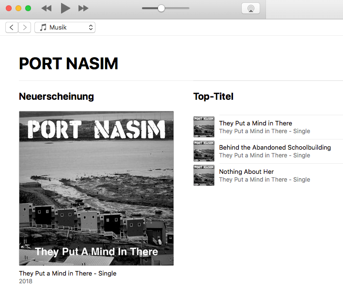 BAM 004: PORT NASIM – They Put A Mind In There ist erschienen
