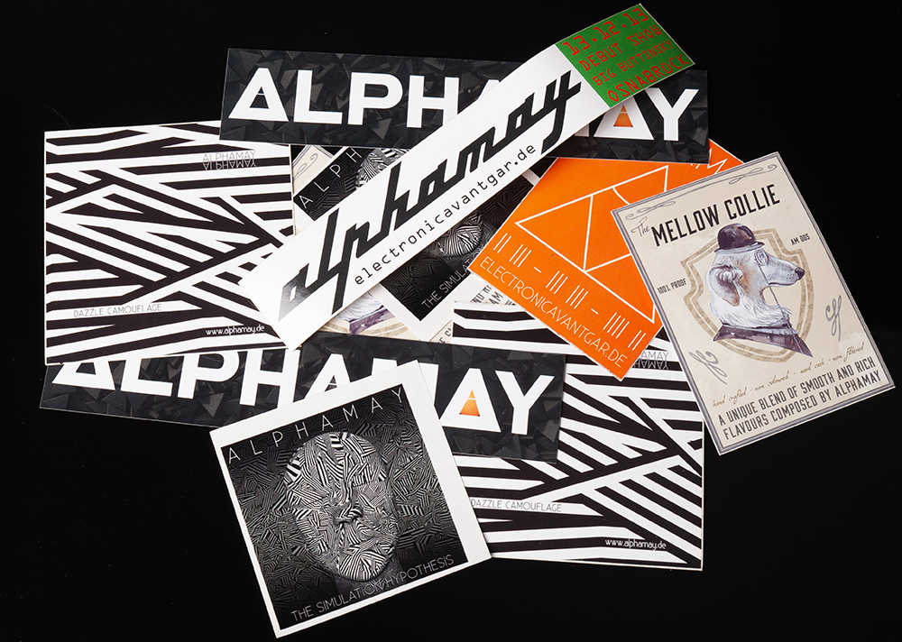 Alphamay - Sticker-Pack (10)