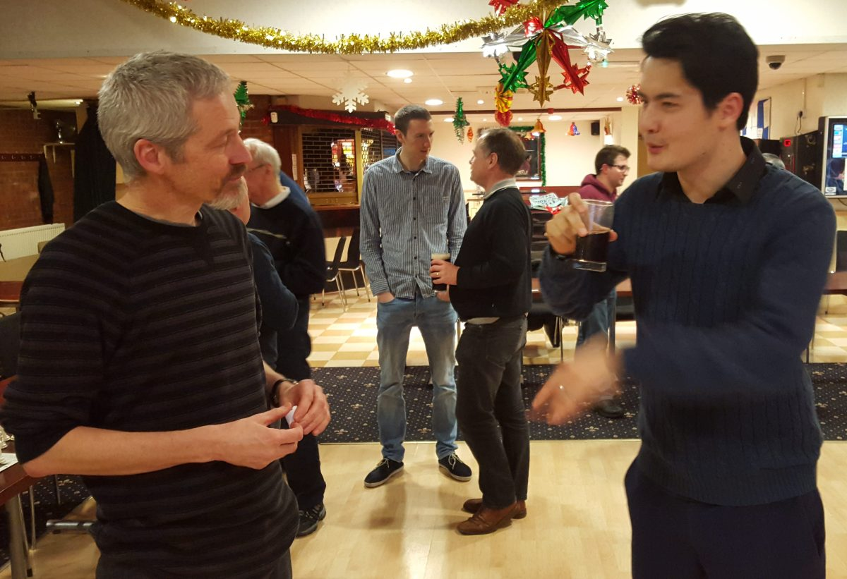 Malcolm leads GM David Howell a merry dance – here's how he did it