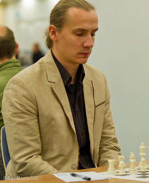Reigning Blitz Tournament champ Adam Bukojemski