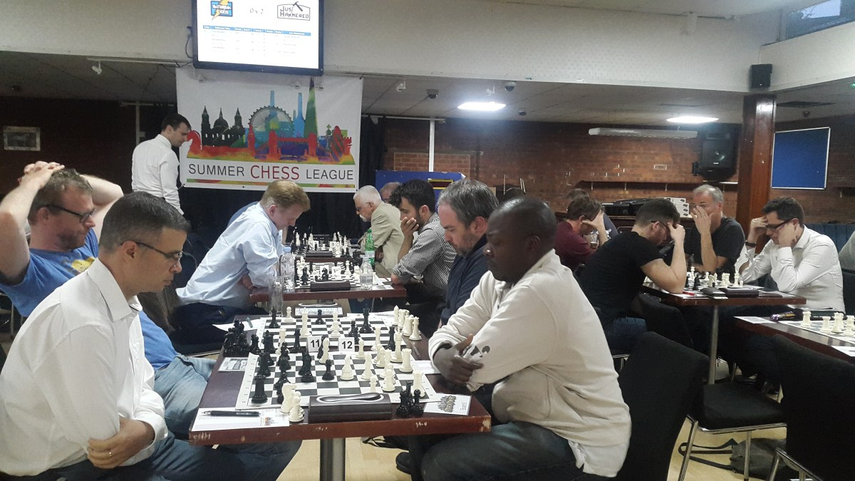 Battersea teams electrify Summer Chess League with rating-busting wins