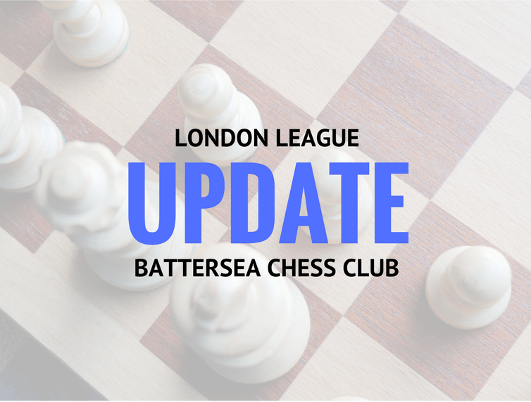 London Chess League update