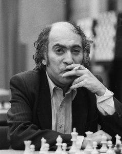 Latvian chess genius Mikhail Tal