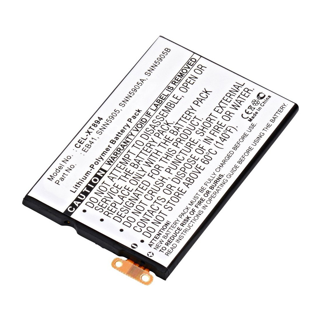Replacement Motorola Eb41 Battery Batterymart