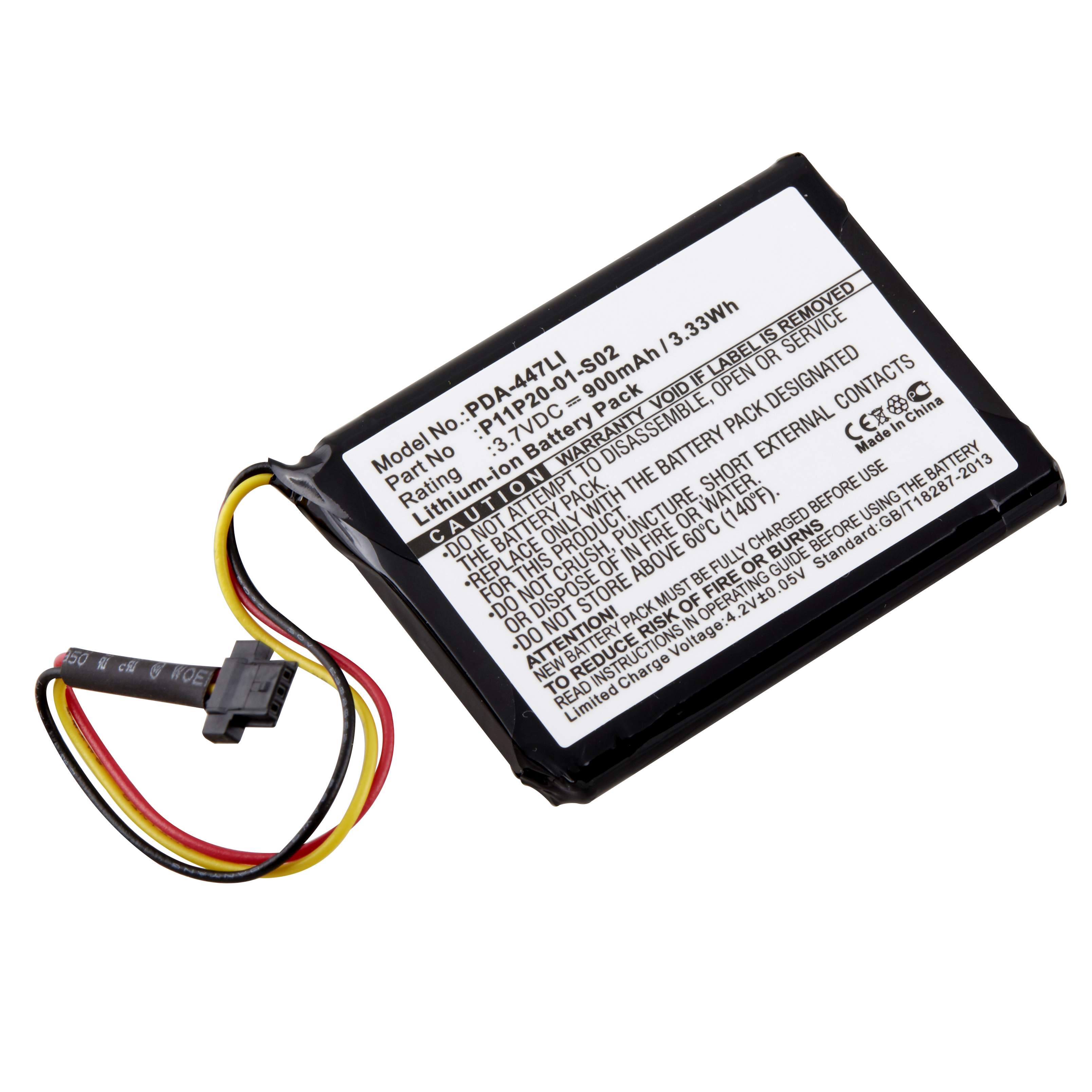 Replacement Tomtom P11p20 01 S02 Gps Battery Batterymart
