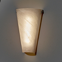 Battery Powered Wicker Wall Sconce with White Light or ... on Battery Powered Wall Sconces id=81405