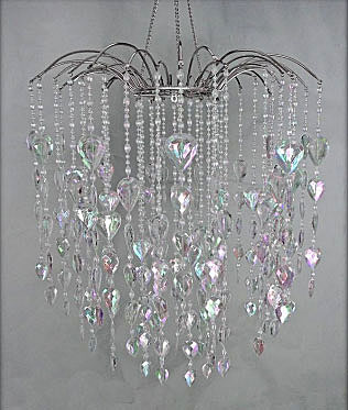 Crystal Waterfall Hanging Chandelier
