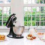 Kitchenaid 5k45sseob classic robot pâtissier – noir