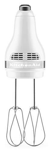 KitchenAid Batteur 5 Vitesses-Blanc, Corps: Plastic