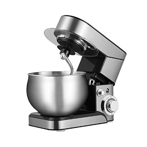 EMOOJOO Mélangeur de pâte de mélangeur de Support de Nourriture, mélangeur de gâteau électrique de 1000W avec Bol, Batteur, Crochet, Fouet, va au Lave-Vaisselle