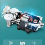 ECSWP Batteur électrique des ménages Petit Automatique Haute Puissance portatif Fouet Cuisson Mixer