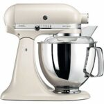 Kitchenaid 144261 5KSM175PELT Robot Patissier Artisan, 300 W, Beige