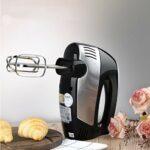 SMEJS 5 Vitesses Cuisine électrique Portable mélangeur Alimentaire crème Oeuf Fouet mélangeur gâteau pâte Pain mélangeur Fabricant Machine
