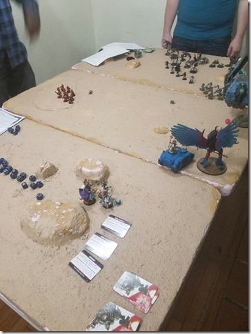 Thousand Sons vs Necrons
