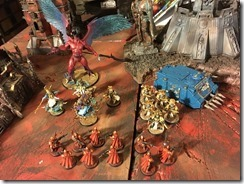 Thousand Sons vs Inquisition, Grey Knights & Adeptus Mechanicus