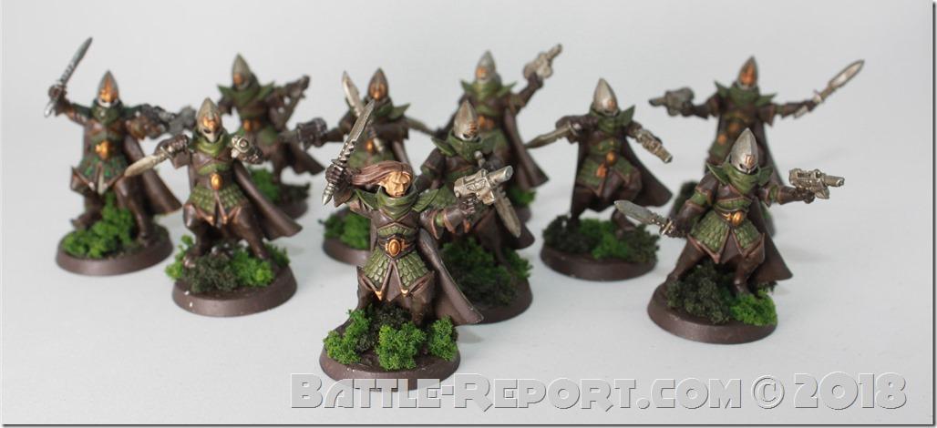 Milan's Prosperine Spireguard 17th Regiment (aka Chaos Cultists)