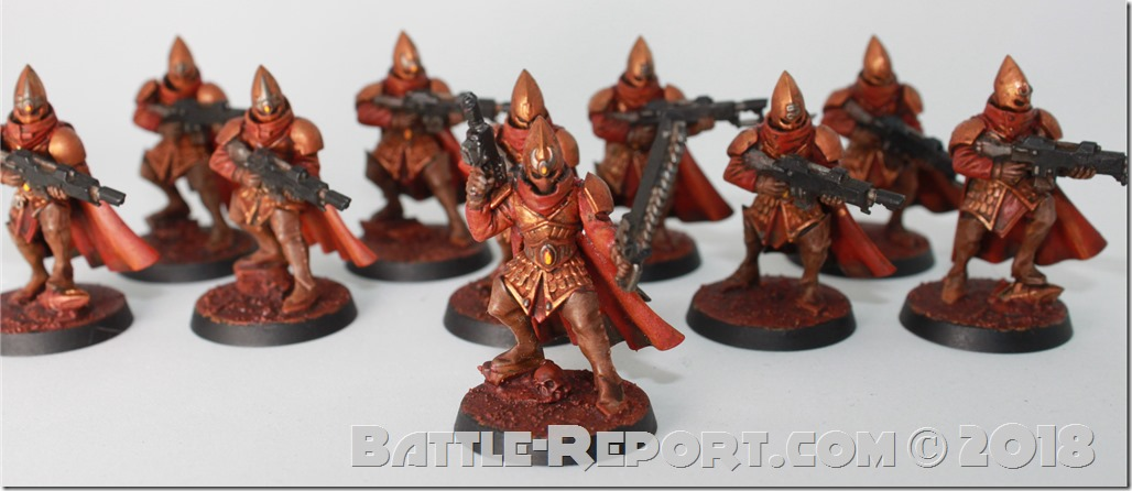 Milan's Prosperine Spireguard 13th Regiment (aka Chaos Cultists)