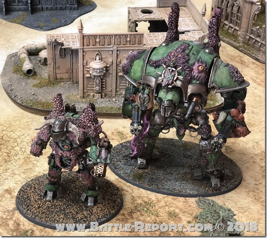 Renegade Knights and Renegade Armigers by George T
