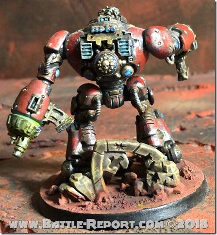 Adeptus Mechanicus Kastelan Robot  02