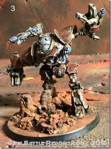 Mechanicum Castellax Battle-Automata by Nyghoma