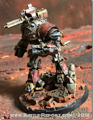 Mechanicum Castellax Battle-Automata by Nyghoma