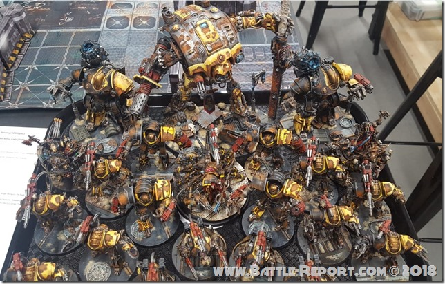 The Road To Damnation Horus Heresy Event at Mythicos Studios