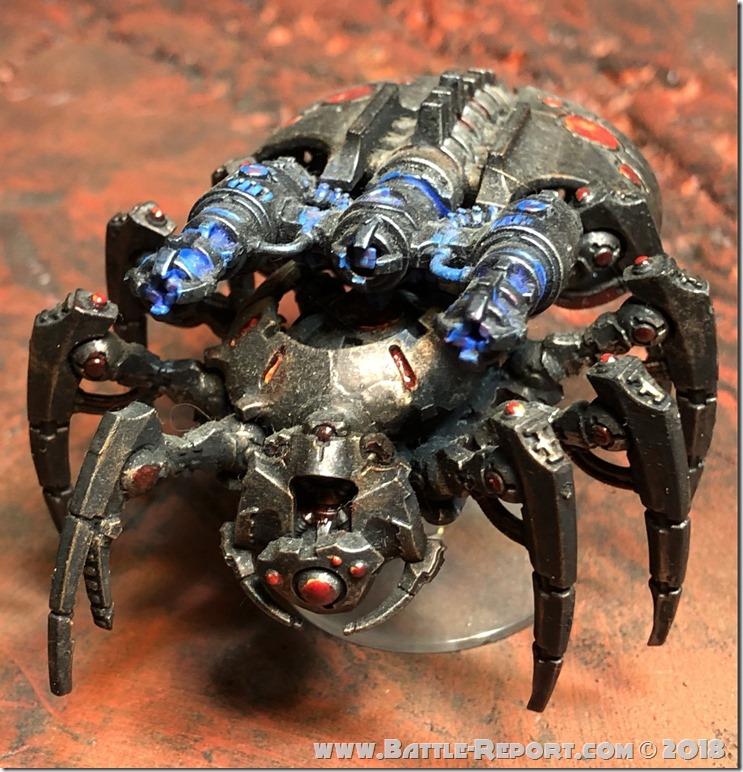 Necron Canoptek Spyder 00