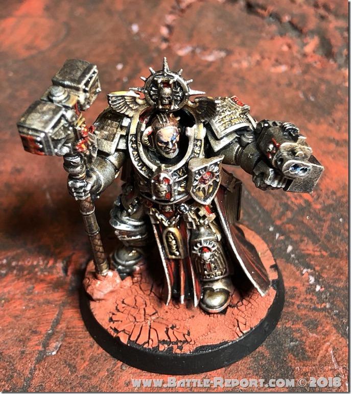 Grey Knights Grand Master Voldus by Nyghoma