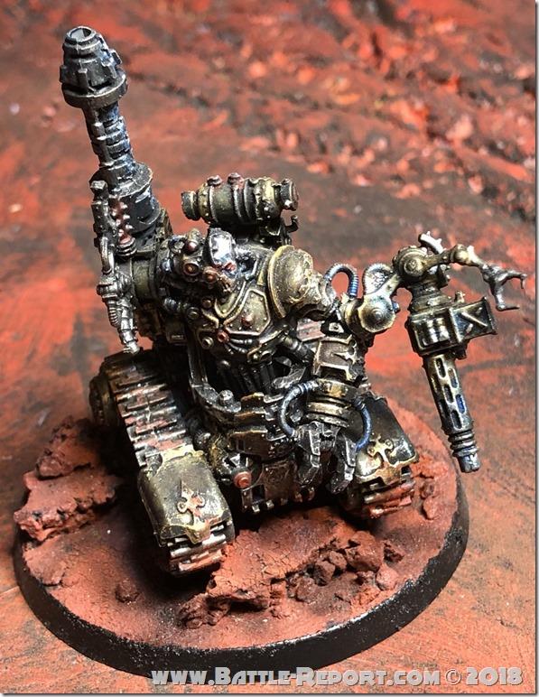 Adeptus Mechanicus Kataphron Destroyers by Nyghoma
