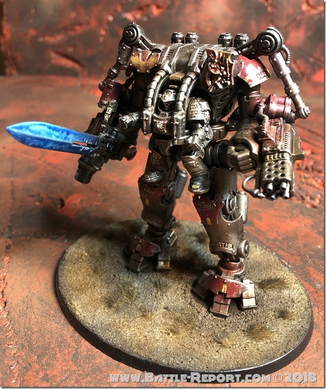 Grey Knights Nemesis Dreadknight by Nyghoma