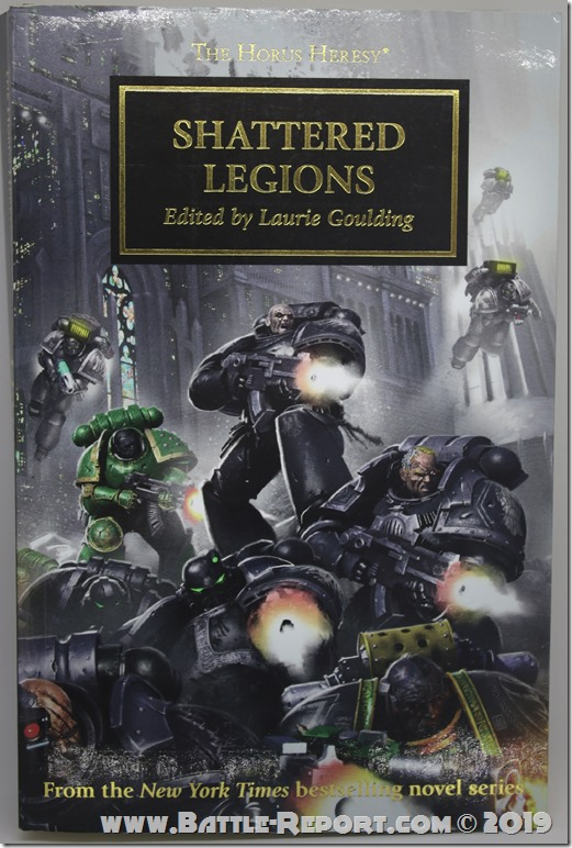 Shattered Legions edited by Laurie Goulding