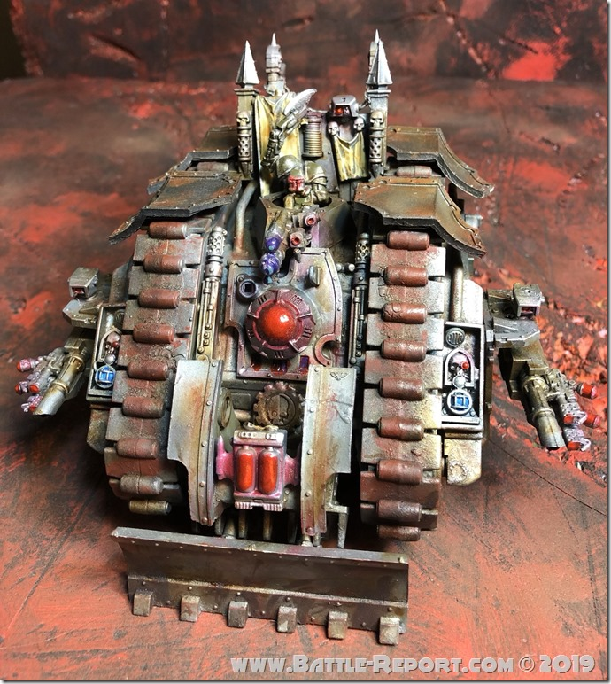 Land Raider Mk1 by Nyghoma