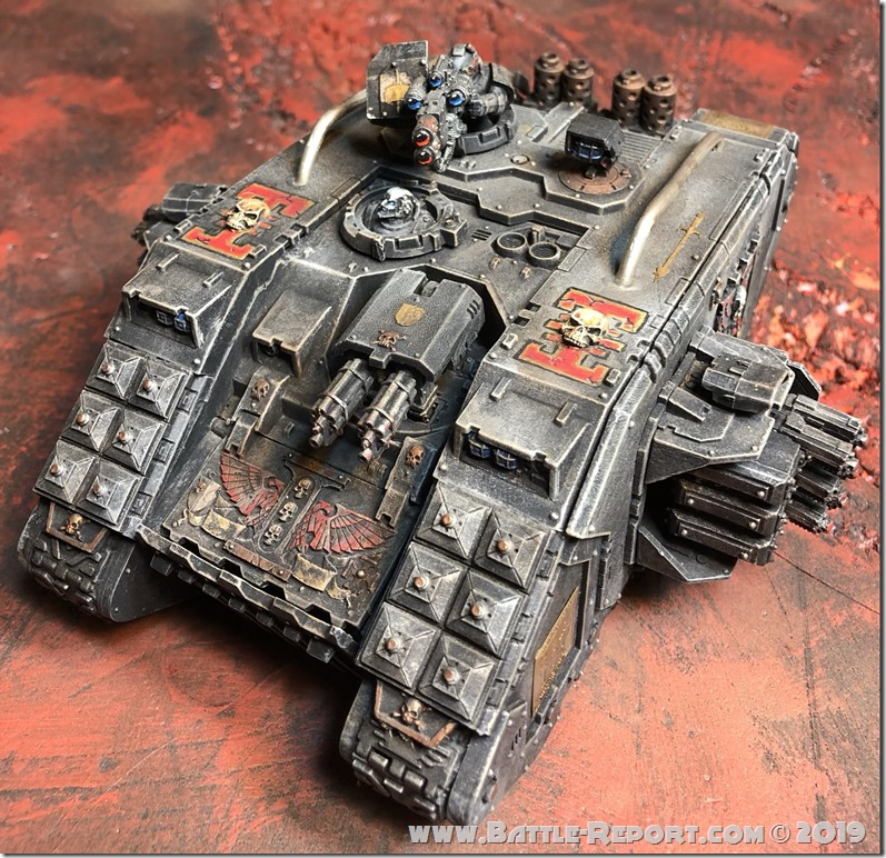 Inquisitorial Land Raider Redeemer by Nyghoma