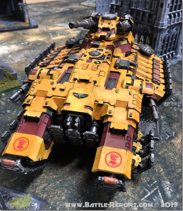 Imperial Fists Astraeus Super-heavy Tank (1)