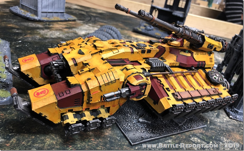 Imperial Fists Astraeus Super-heavy Tank (2)