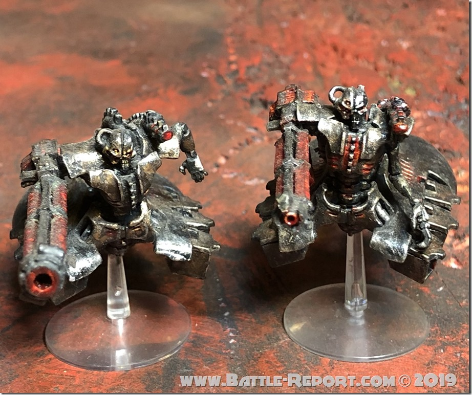 Necron Heavy Destroyers (2)