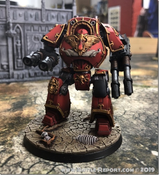 Blood Angels ContemptorDreadnought (1)