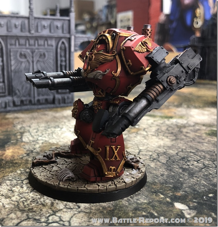 Blood Angels ContemptorDreadnought (2)