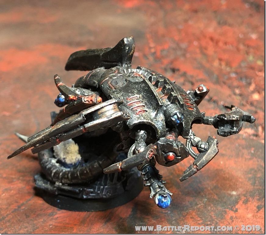 Necron Canoptek Wraith by Nyghoma (1)