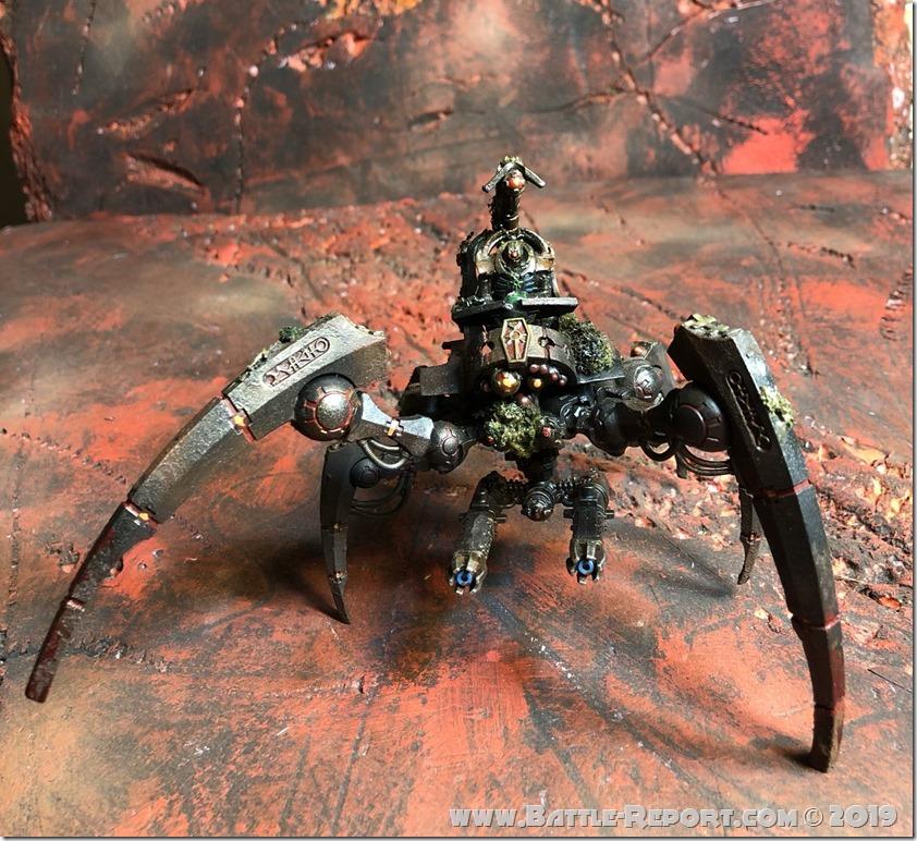 Necron Triarch Stalker by Nyghoma