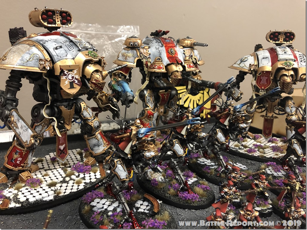 Armies of the 2019 BFS North East Team Championship – Part 2