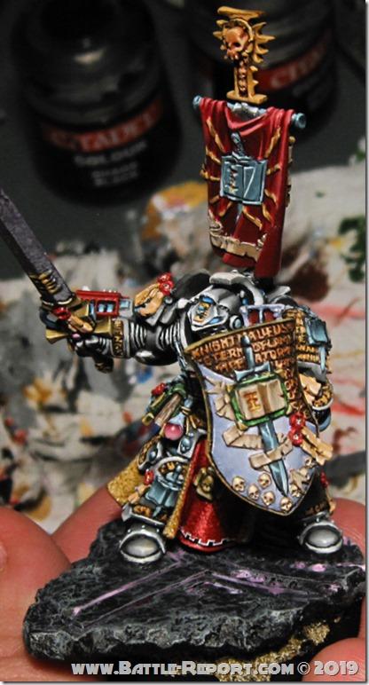 Grey Knighs Lord Kaldor Draigo by Tomas