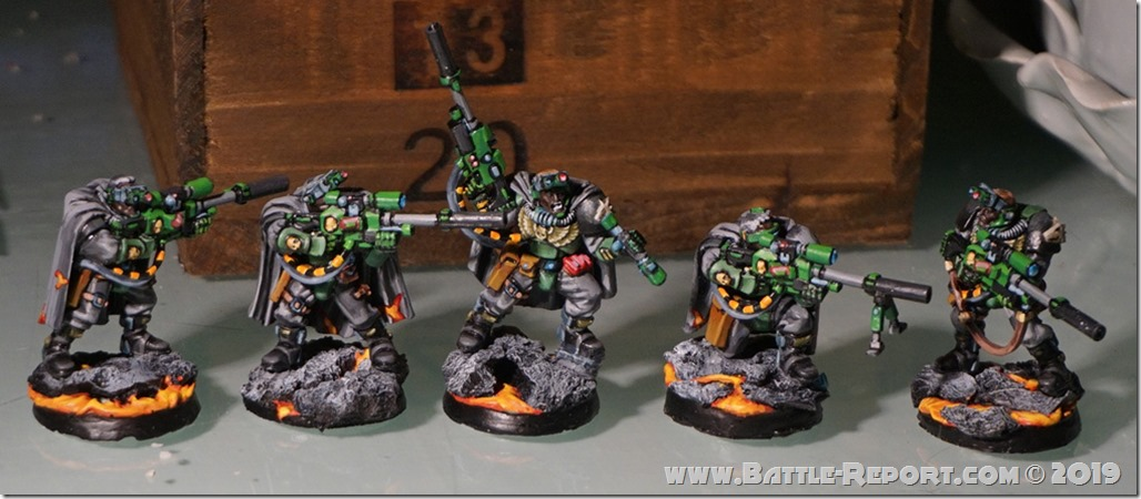 Salamanders Scouts by Tomas